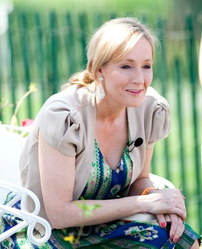 J K Rowling - one of our most successful living authors.
